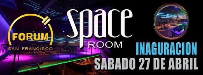 Este sabado en la Forum - Inauguracion del Space Room (27 abril)