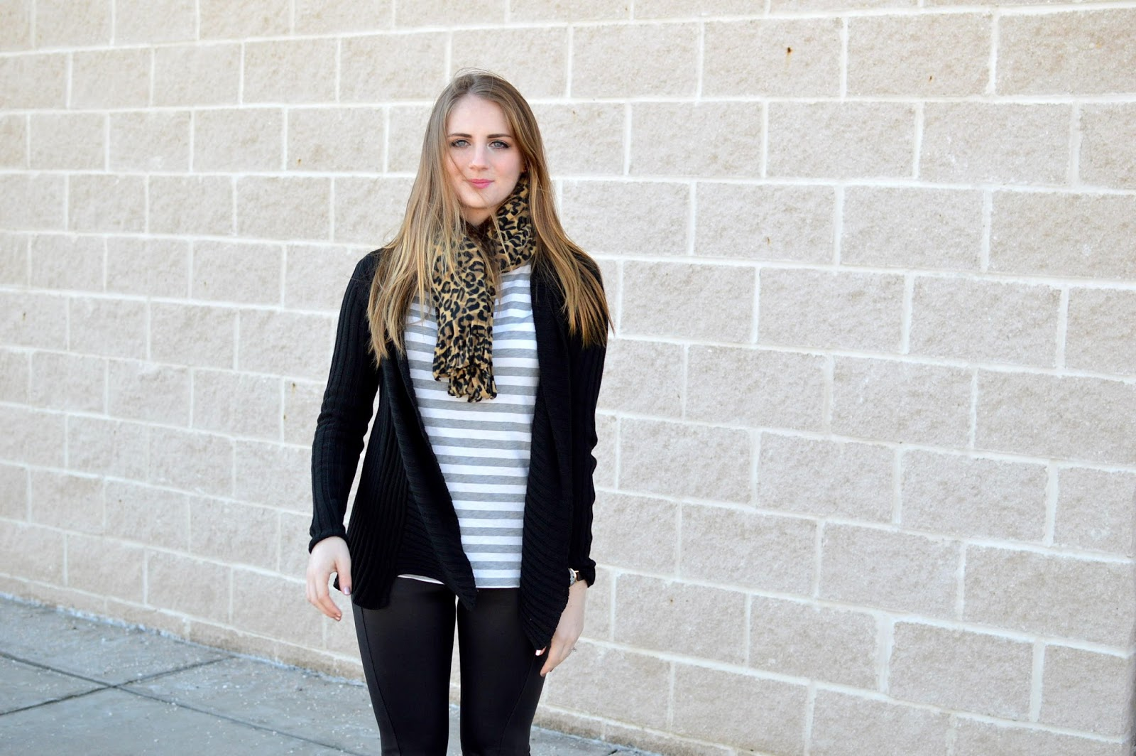 stripes and leopard