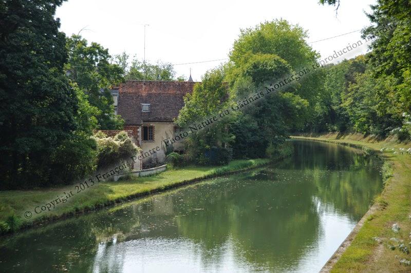 Moulin de Nançay sur le Canal du Loing