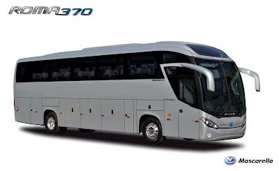Mascarello Roma 370 Inspirasi Bus Indonesia