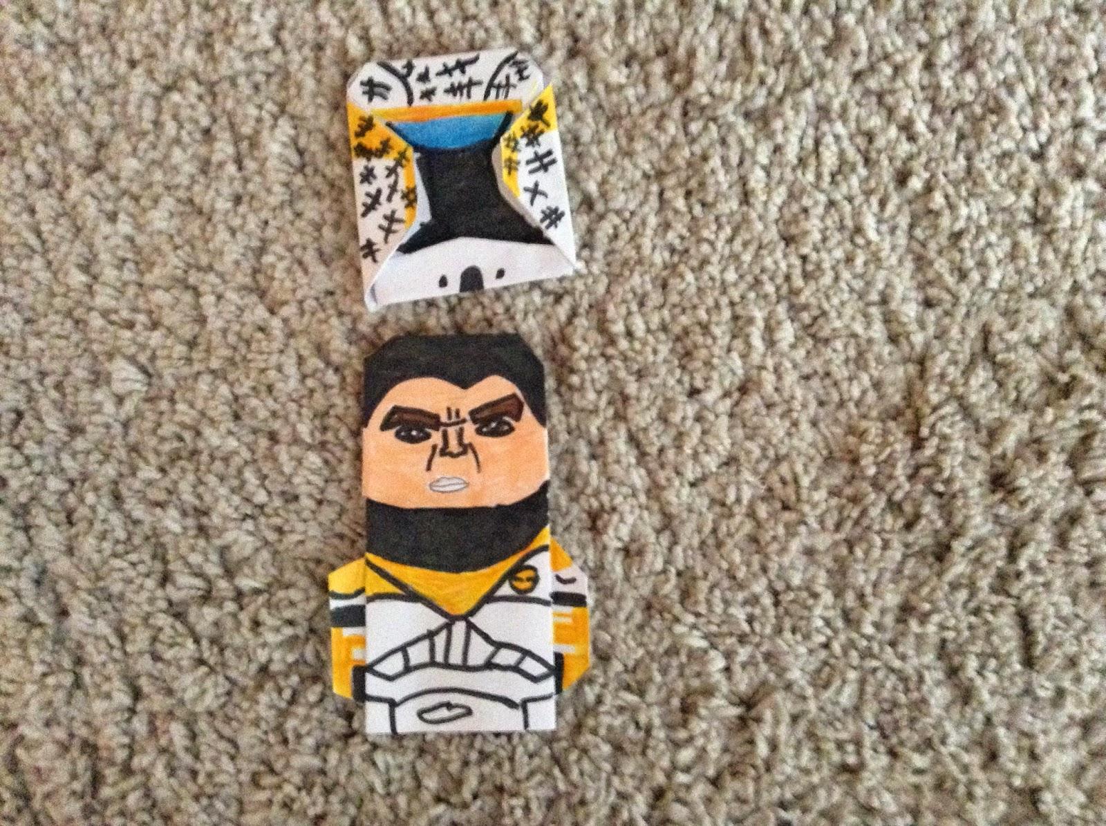 Super Folder Xavier's Origami: Gregor for wiztorn's clone ... - photo#5