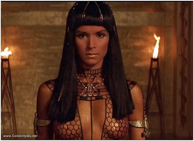 Celebrity Nude Century: Patricia Velasquez (The Mummy)