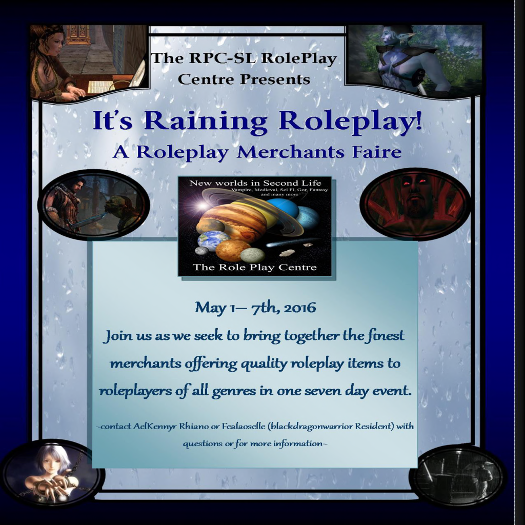 ** The RPC - RolePlay Centre Roleplay Merchant Faire **