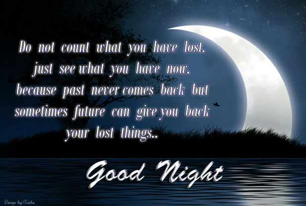 Night Love Quotes : ... night scraps ! Good night wallpaper ! Heart touching good night quotes