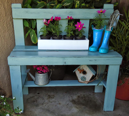 Vintage Style Bench - SOLD