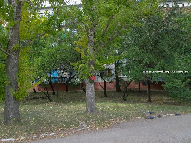 Разрушения в Славянске 2015 фото ул. Василевского