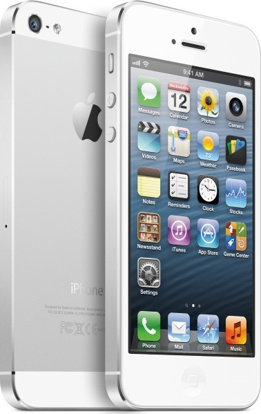 white Apple Launches The 4 Inch iPhone 5 – Review, Price and Specifications