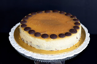Swiss Caremel Cheese Cake