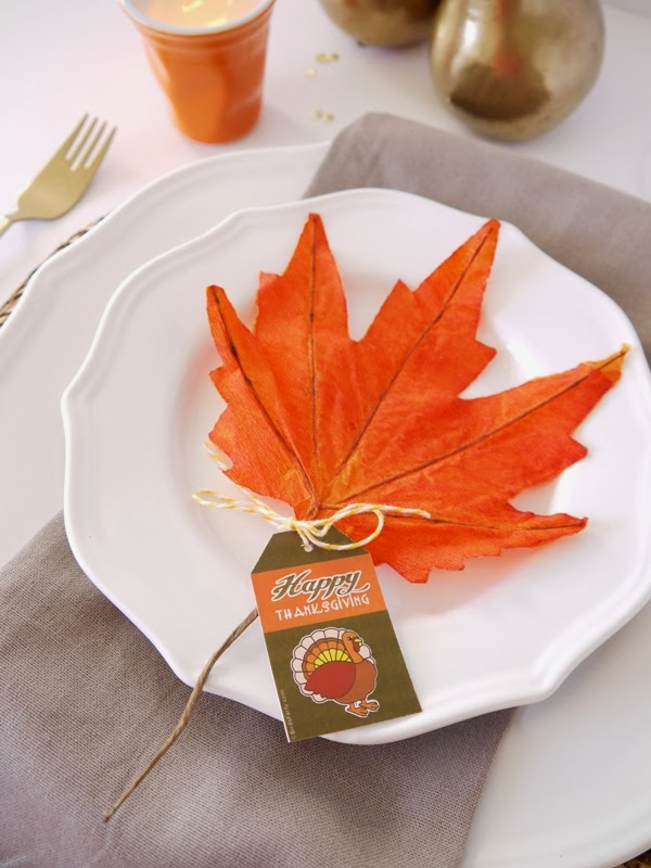 easy thanksgiving table setting idea - Thanksgiving Table Setting Ideas Easy