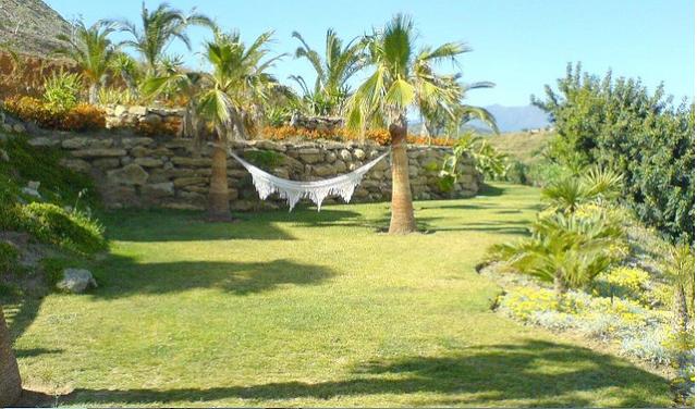 Jardín Villa de Lujo Estepona Marbella