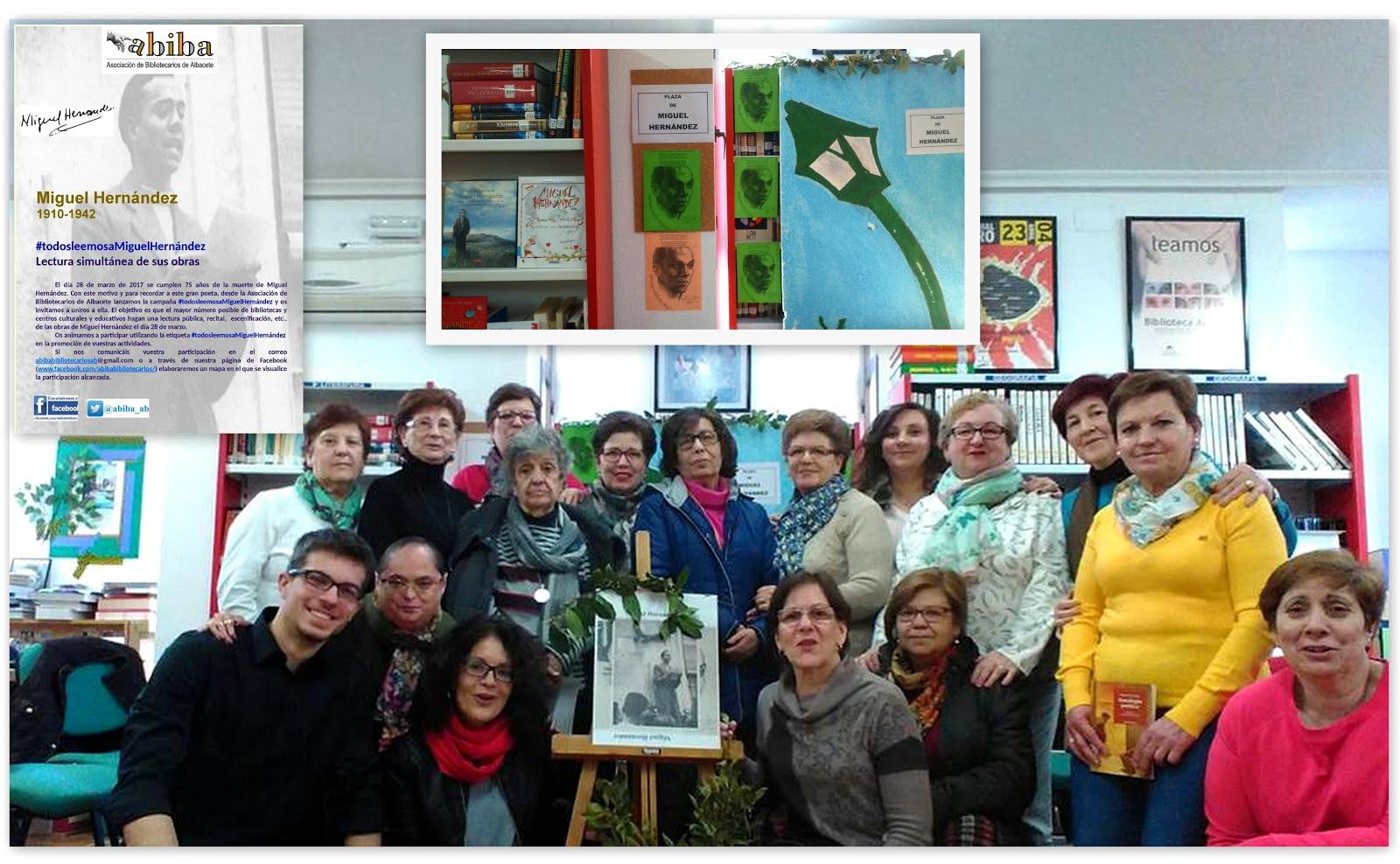 MIGUEL HERNÁNDEZ, homenaje 28/03/2017