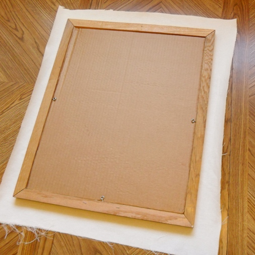 how to make a memo board from a canvas