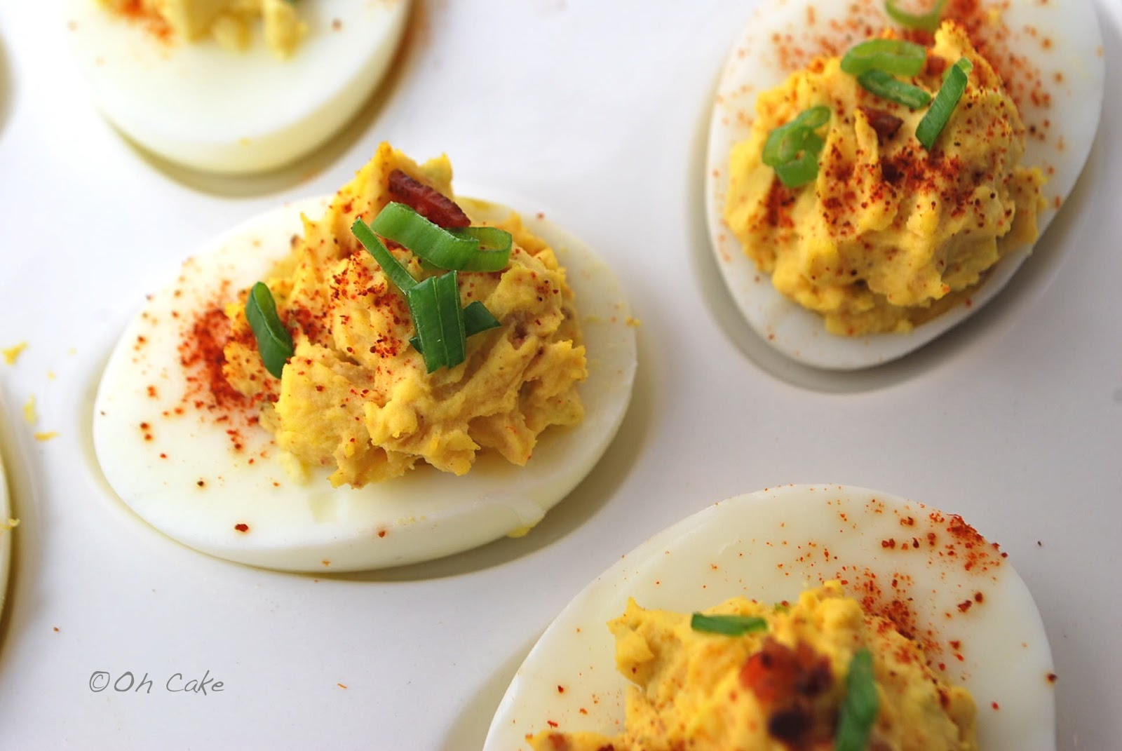 Classic Deviled Eggs ~ for 6 whole eggs