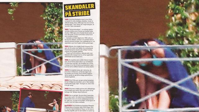 Kate Middleton Bottomless Photos: Se og Hør Magazine