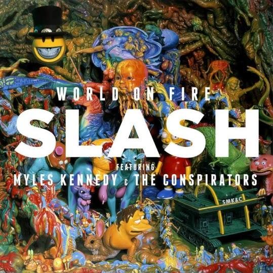 Slash feat. Myles Kennedy & the Conspirators - World on Fire