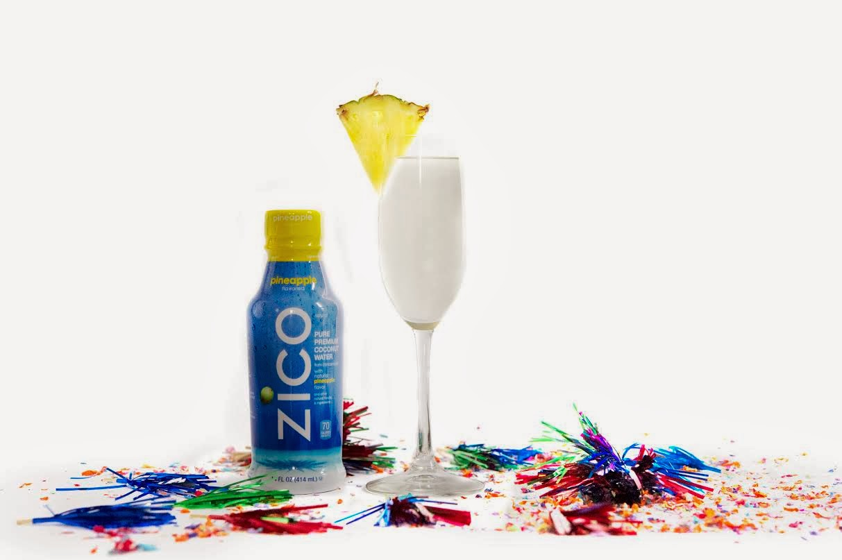 ZICO Pineapple Champagne Cooler