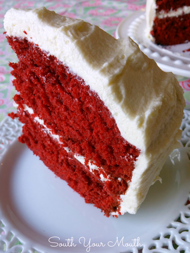 South Your Mouth Mamas Red Velvet Cake