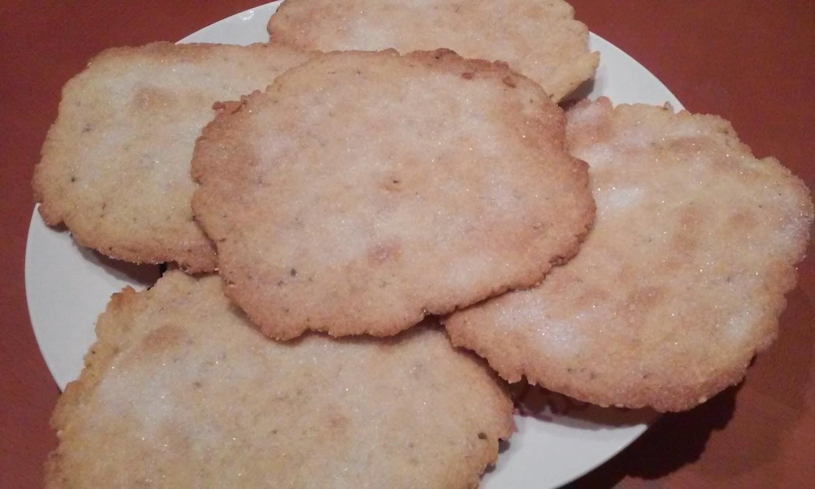Receta tortitas de anis