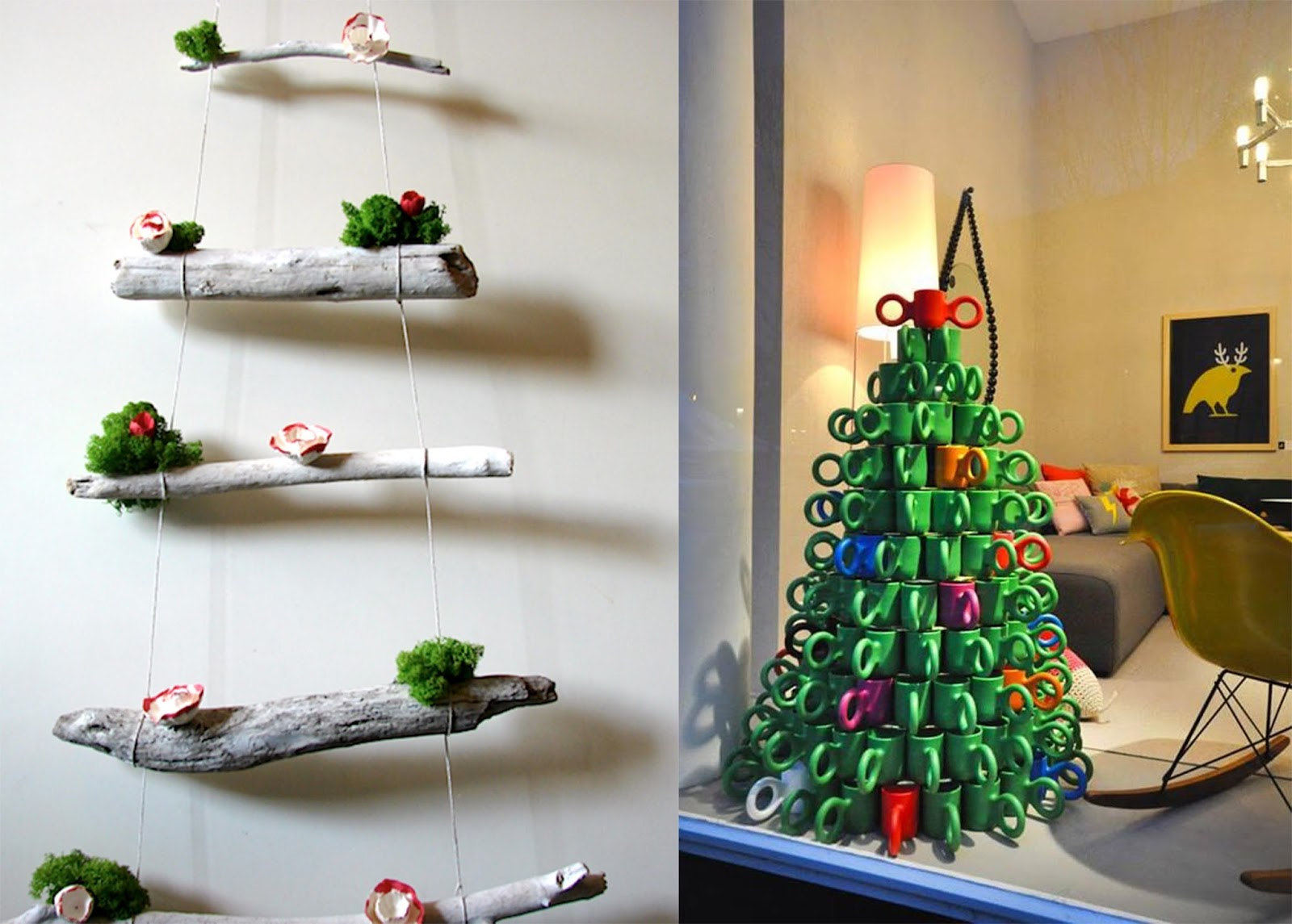 Idee originali per un natale creativo arc art blog by for Decorare soggiorno per natale