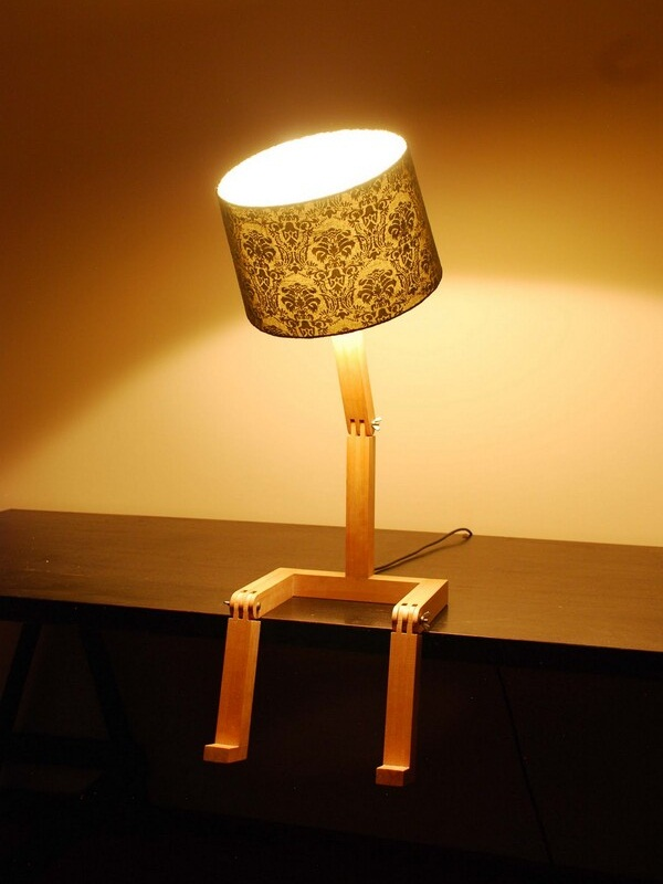 Sitting Lamp by Graeme Bettles