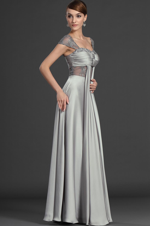 robes de mariage robes de soir e et d coration robe de soir e grise longue. Black Bedroom Furniture Sets. Home Design Ideas