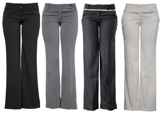 Excellent Dress Pants Womens Pantalonessolid Formal Work Wear Trousers Women