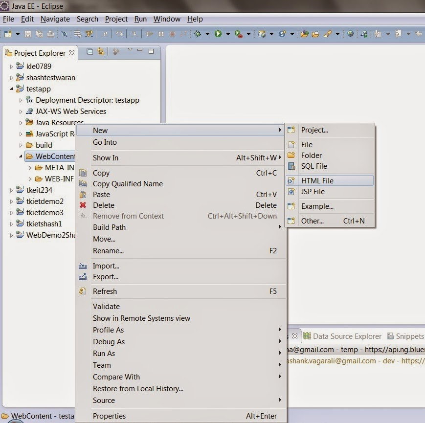 How To Build A Java Web App Using Eclipse Bluemix Insights