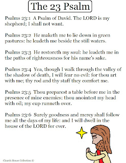 Church House Collection Blog Psalm 23 The Lord Is My