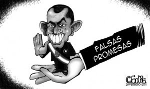 False promises - Honduras
