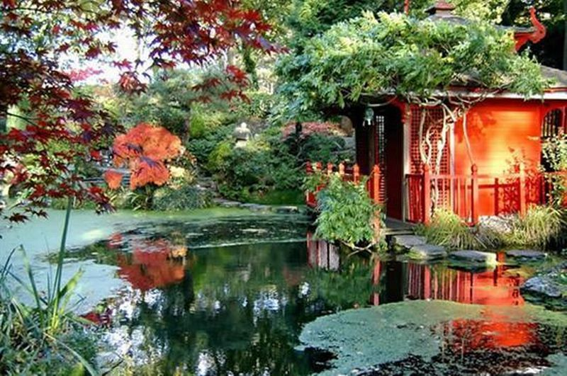 Amazing beautiful japanese garden amazing home design for Japanese style landscaping