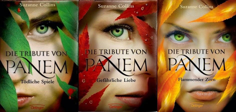 Die Tribute von Panem Buchreihe Deutsches Cover - Let's Talk About