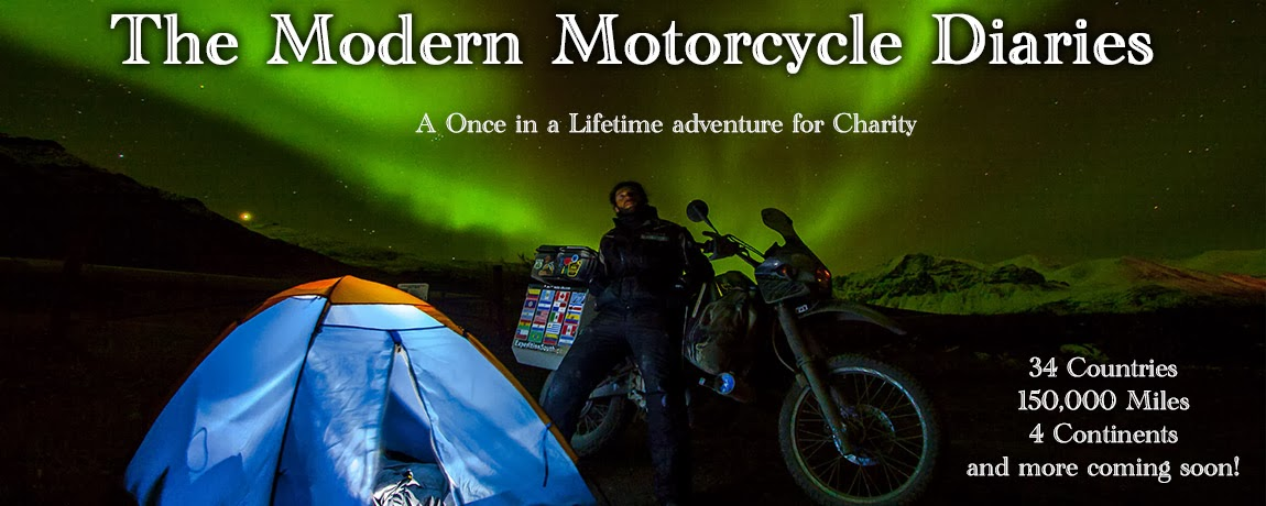 Alex's Motorcycle Adventure Alaska, Mexico, Central + South America! Modern Motorcycle Diaries