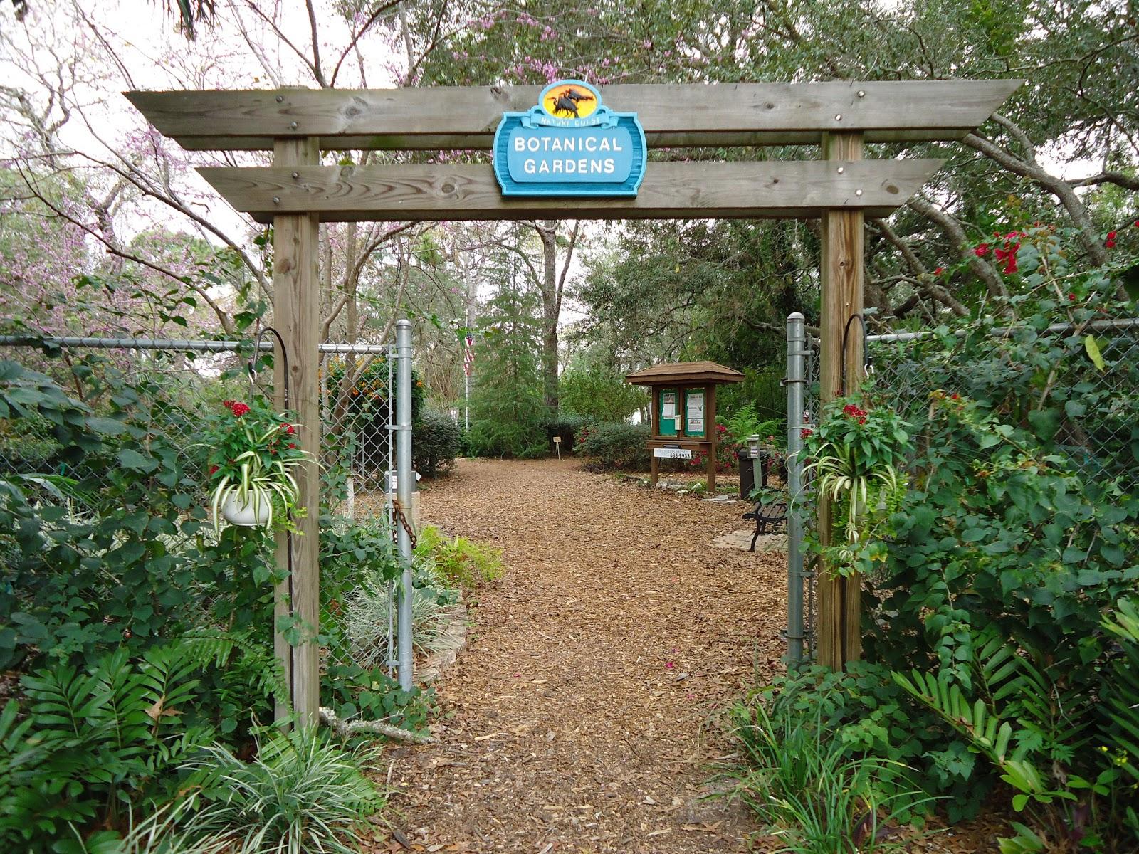 the salty gardener nature coast botanical gardens