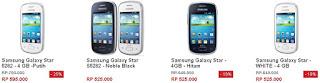HP Andoid Samsung Harga 500 Ribuan