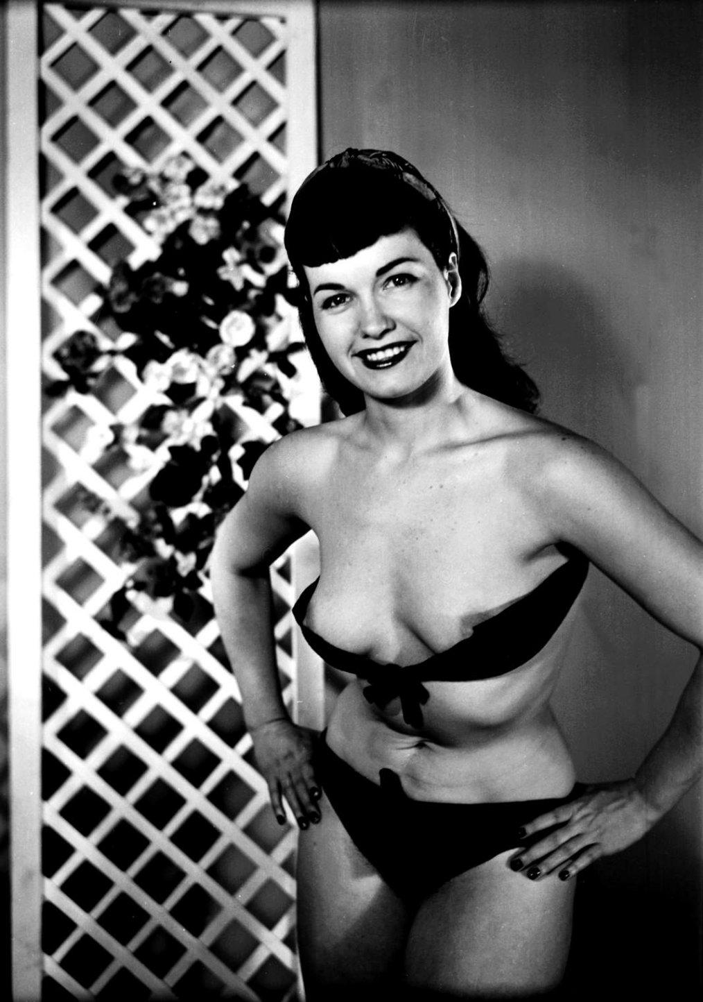 Los desnudos de Bettie Page