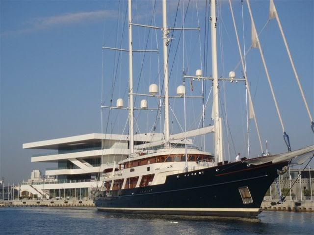 Megayacht Global EOS The Worlds Largest Sailing Yacht