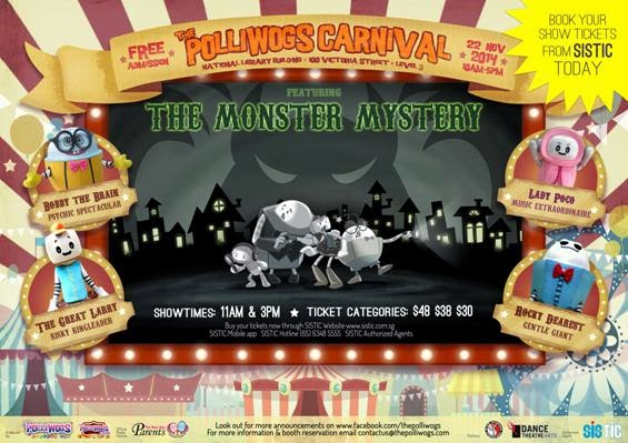 The Polliwogs Carnival and Monster Mystery Show!