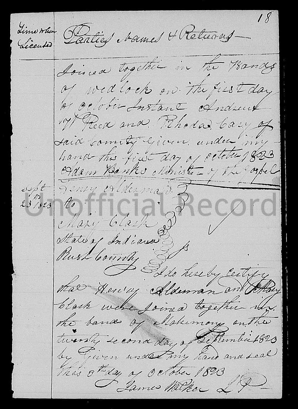 Indiana rush county -  Indiana Marriages 1811 1959 Index And Images Familysearch Https Familysearch Org Pal Mm9 1 1 Xxfc Jhw Accessed 13 Jul 2013 Henry Alderman And