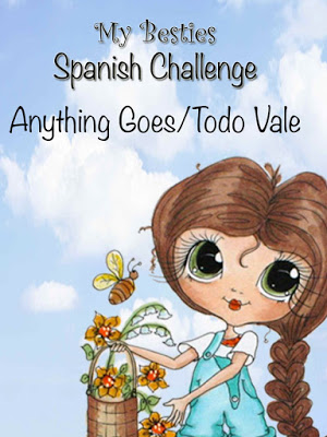 Designer voor My Besties Spanish Challenge Blog