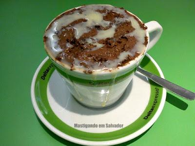 Deltaexpresso: Bolo na Xícara sabor Nutella