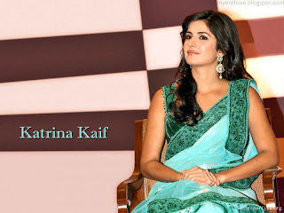 katrina photo in green saree
