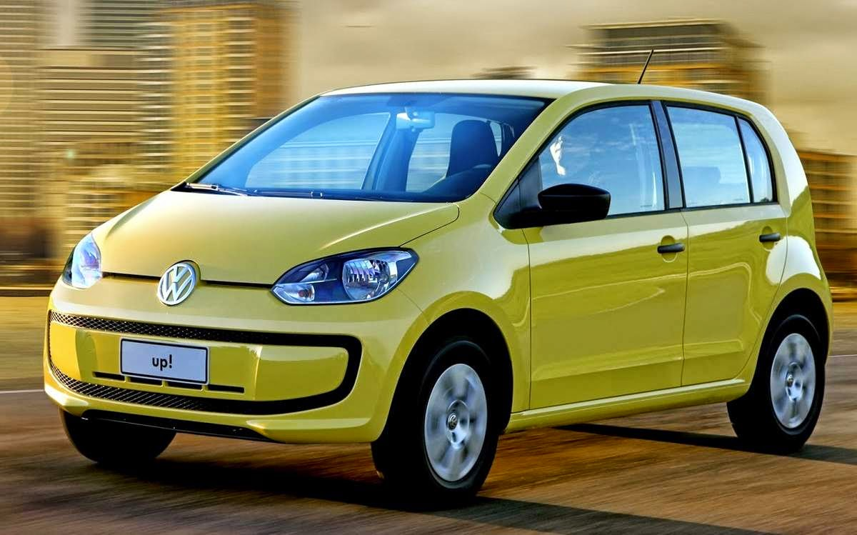 Volkswagen Up 2014 2015 consumo