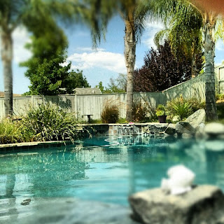 Sunday meeting in California pool