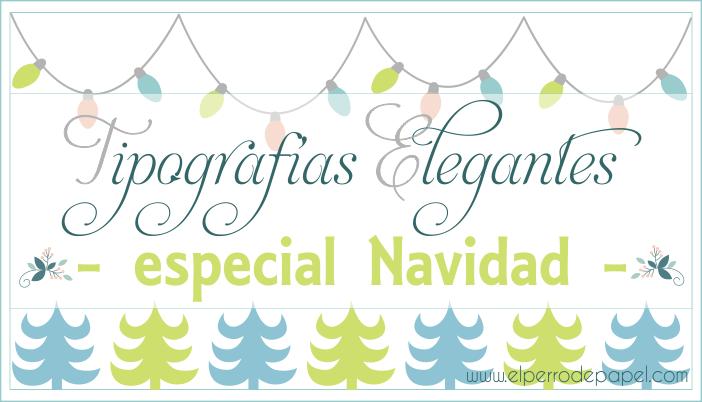Tipografías Elegantes de Navidad con Licencia Comercial