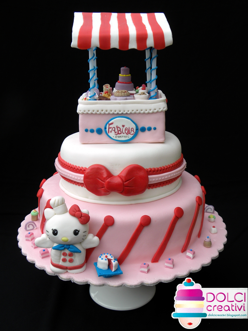 Dolci Creativi Sar Torte Decorate Torta Hello Kitty Bakery
