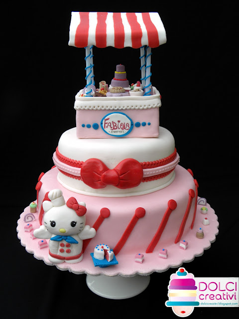 Torta Hello Kitty Bakery