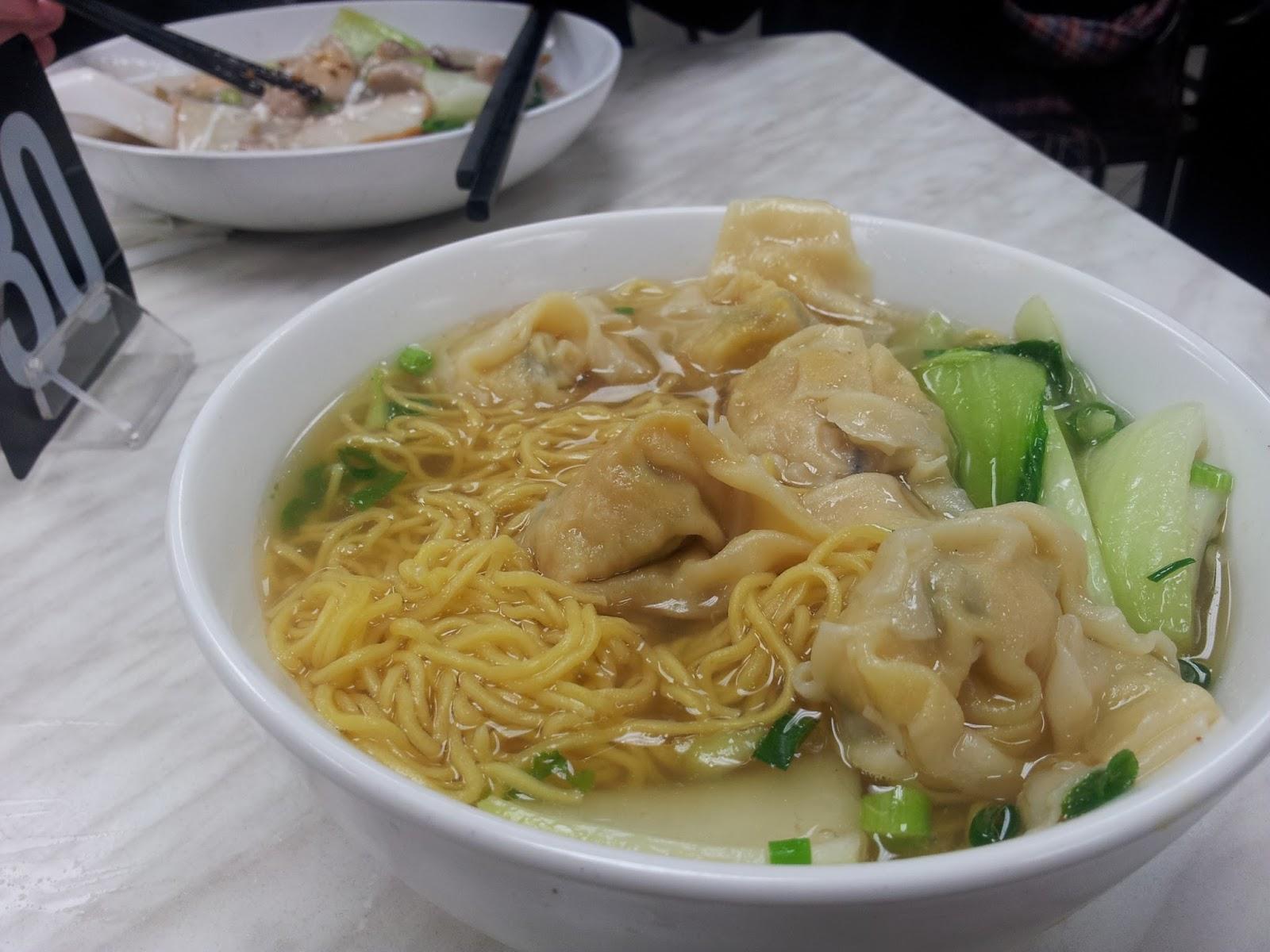 Nanyang Cafe, Wonton Noodle Soup, Adelaide, Rundle Mall