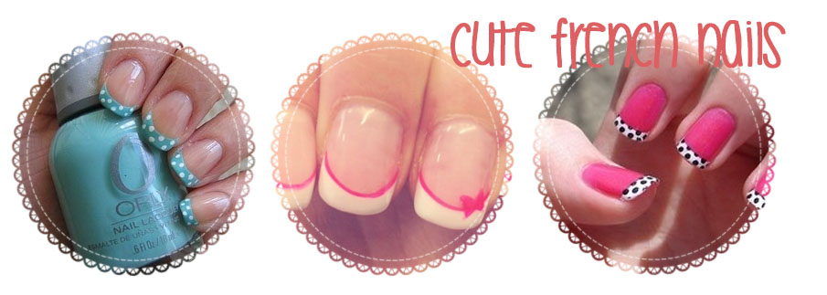 Frühjahrstrends 2014 - Cute French Nails