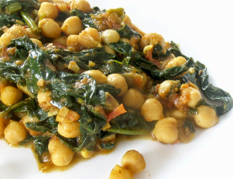 Spicy Chickpeas in a Tomato Coconut Sauce | Lisa's Kitchen ...