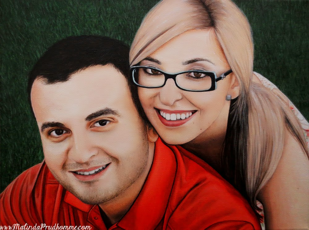 portrait, portrait artist, portrait painting, oil painting, toronto artist, realistic artwork, couple portrait, original artwork, commission, custom artwork